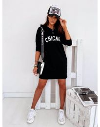 Фустан - код 802 - црна