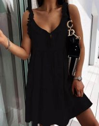 Фустан - код 2540 - црна