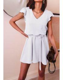 Фустан - код 5551 - бело