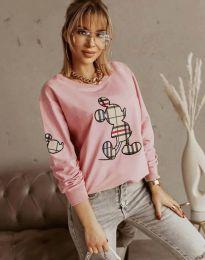 Блуза - код 2959 - розова