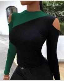 Блуза - код 0042 - 3 - шарена