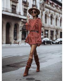Фустан - код 0701 - црвена