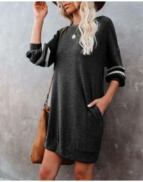 Фустан - код 5925 - црна