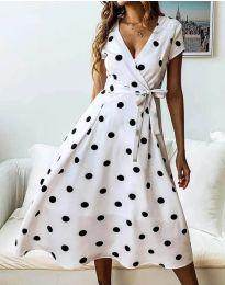 Фустан - код 4757 - 1 - бело