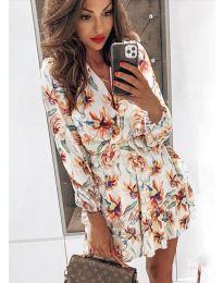 Фустан - код 5514 - 2 - бело