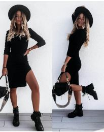 Фустан - код 884 - црна