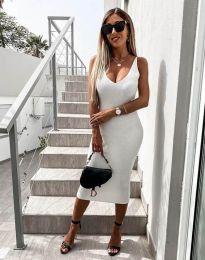Фустан - код 2960 - бело