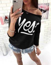 Блуза - код 0996 - 1 - црна
