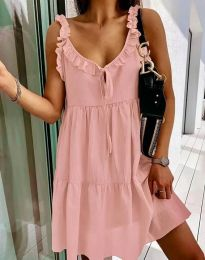 Фустан - код 2540 - розова