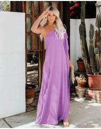 Фустан - код 6681 - виолетова