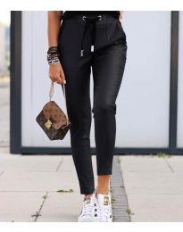 Панталони - код 5896 - црна