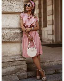 Фустан - код 7045 - розова