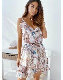 Фустан - код 3677 - бело