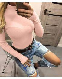Блуза - код 5256 - розова
