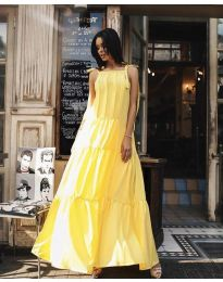 Фустан - код 1105 - жолта