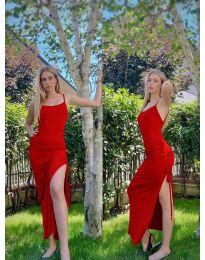 Фустан - код 7858 - црвена
