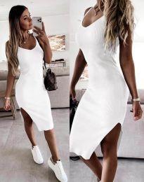 Фустан - код 2378 - бело