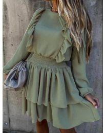 Фустан - код 7723 - путер зелена