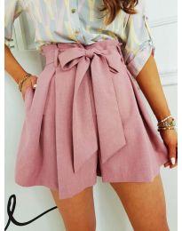 Кратки панталони - код 0407 - розова