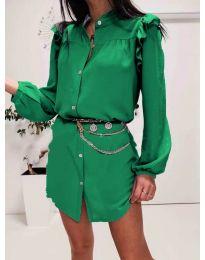 Фустан - код 3433 - зелена