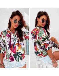 Блуза - код 6109 - шарена