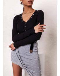 Блуза - код 11564 - црна