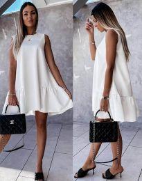 Фустан - код 3456 - бело