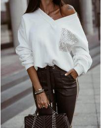 Блуза - код 904 - бело