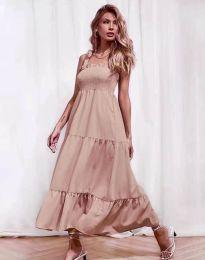 Фустан - код 1729 - пудра