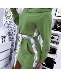 Фустан - код 4483 - зелена