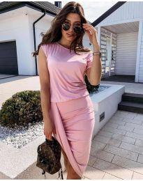 Фустан - код 138 - розова