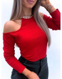 Блуза - код 4191 - црвена