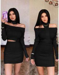 Фустан - код 3982 - црна