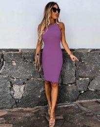 Фустан - код 2720 - виолетова