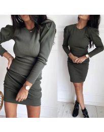 Фустан - код 3519 - путер зелена