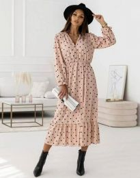 Фустан - код 0836 - розова