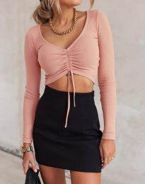 Блуза - код 11632 - розова