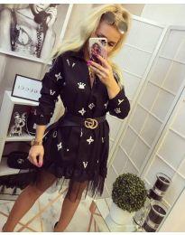 Фустан - код 870 - црна