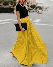 Сукња - код 3146 - жолта