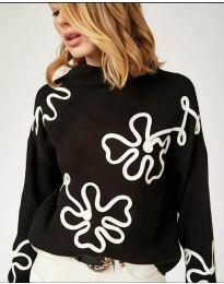 Блуза - код 375 - црна