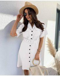 Фустан - код 742 - бело