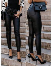 Панталони - код 5052 - црна