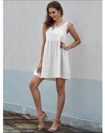 Фустан - код 2255 - бело