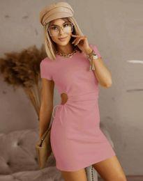 Фустан - код 8556 - розова
