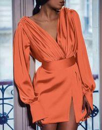 Фустан - код 5324 - портокалова