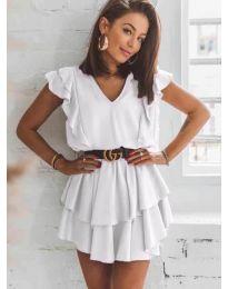 Фустан - код 7173 - бело