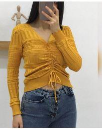 Блуза - код 385 - окер