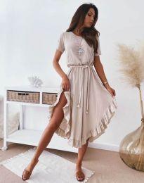 Фустан - код 11893 - кремова