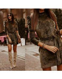 Фустан - код 0722 - путер зелена