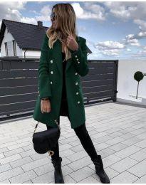 Палто - код 189 - зелена